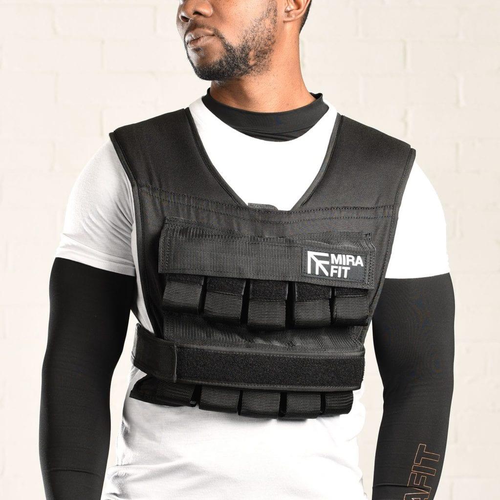 weight vest by Mirafit