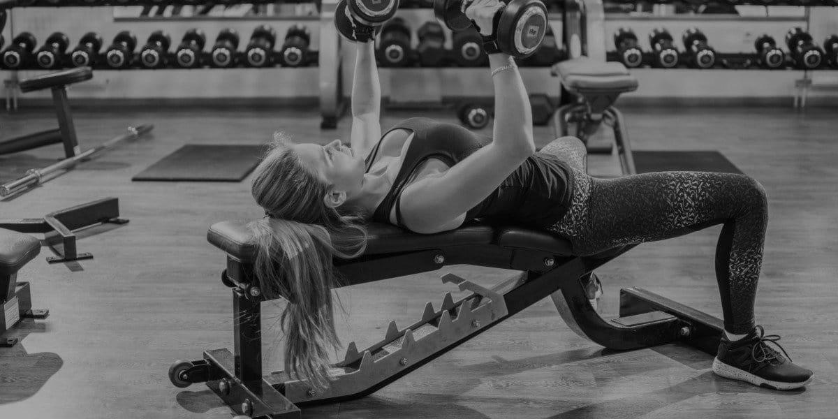 best weight bench header