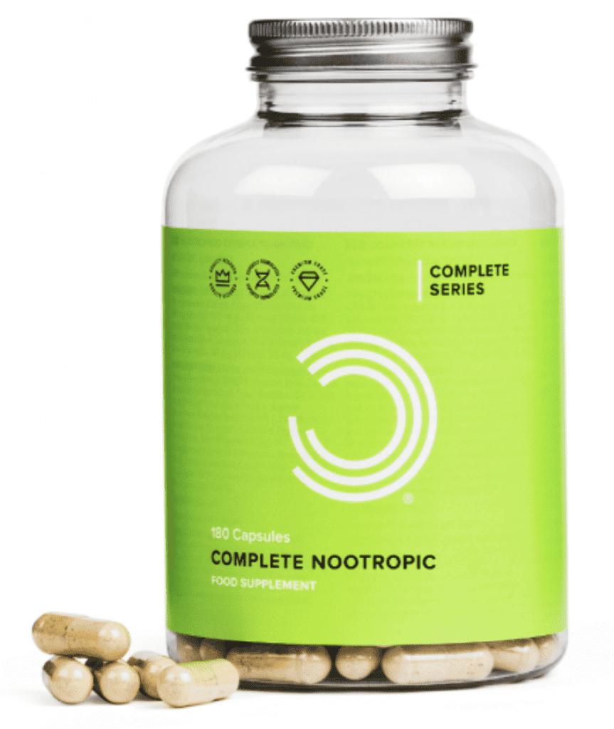 Complete nootropics bottle