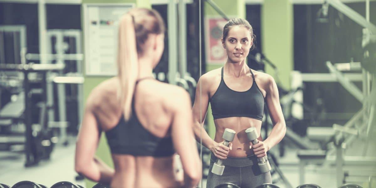 gym mirrors heading