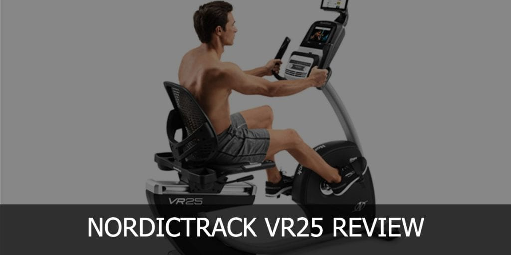 NordicTrack VR25 Header