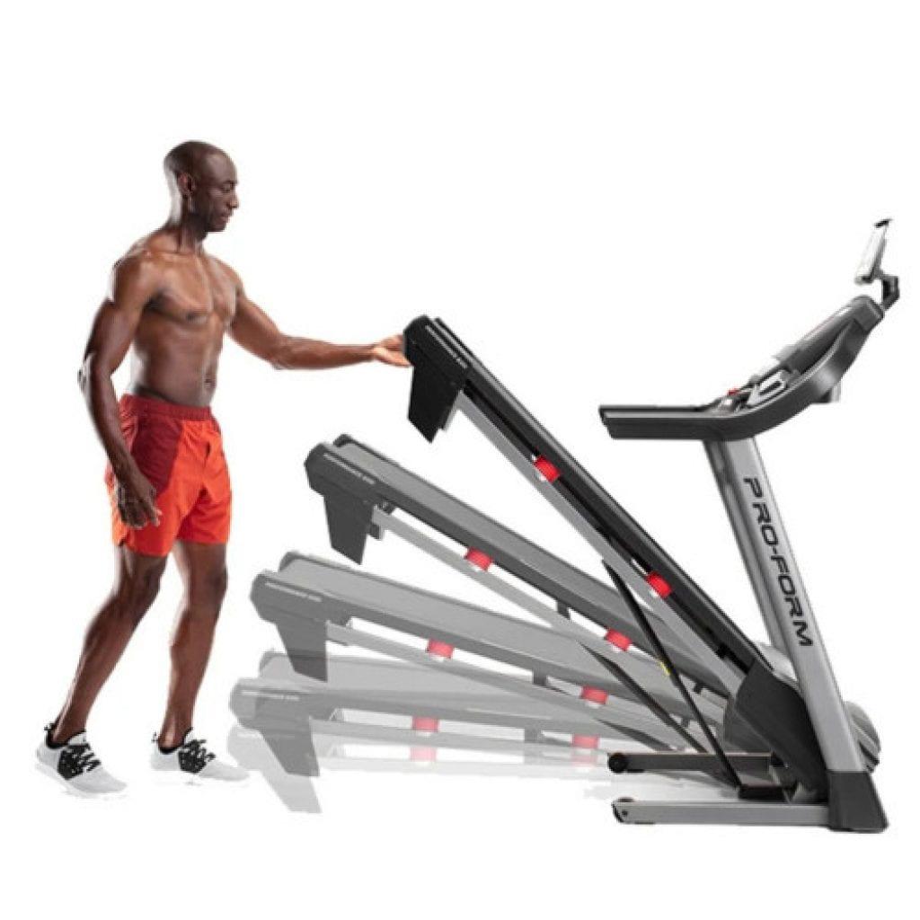 foldable treadmill example