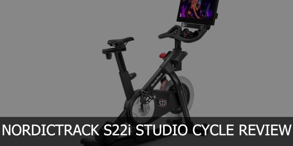NordicTrack S22i review header