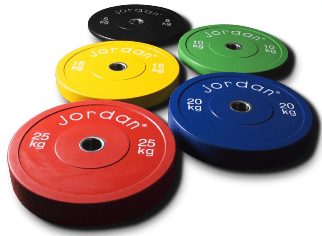 Jordan weight training plates