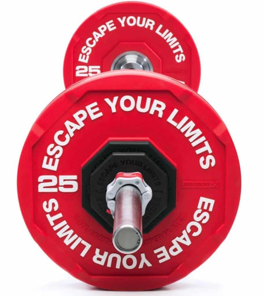 escape bumper plate