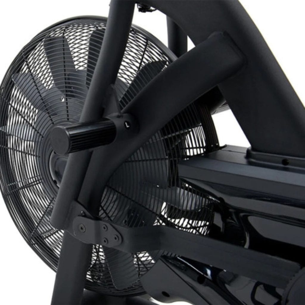 JTX air bike fan close up