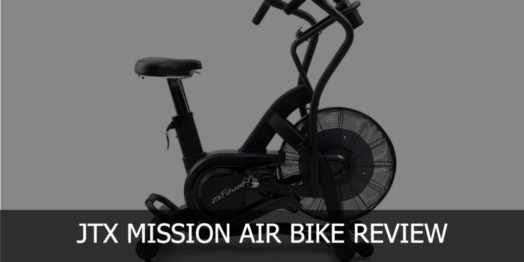 mission air bike header