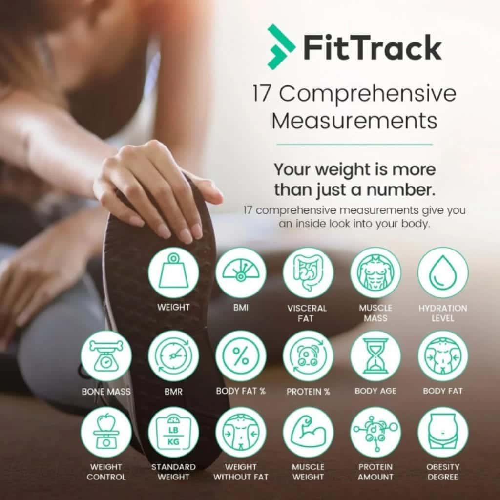 FitTrack Dara metrics