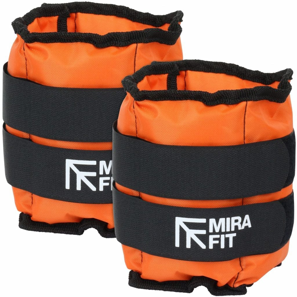 ankle weights mirafit