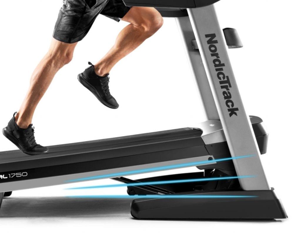 running track nordictrack 1750