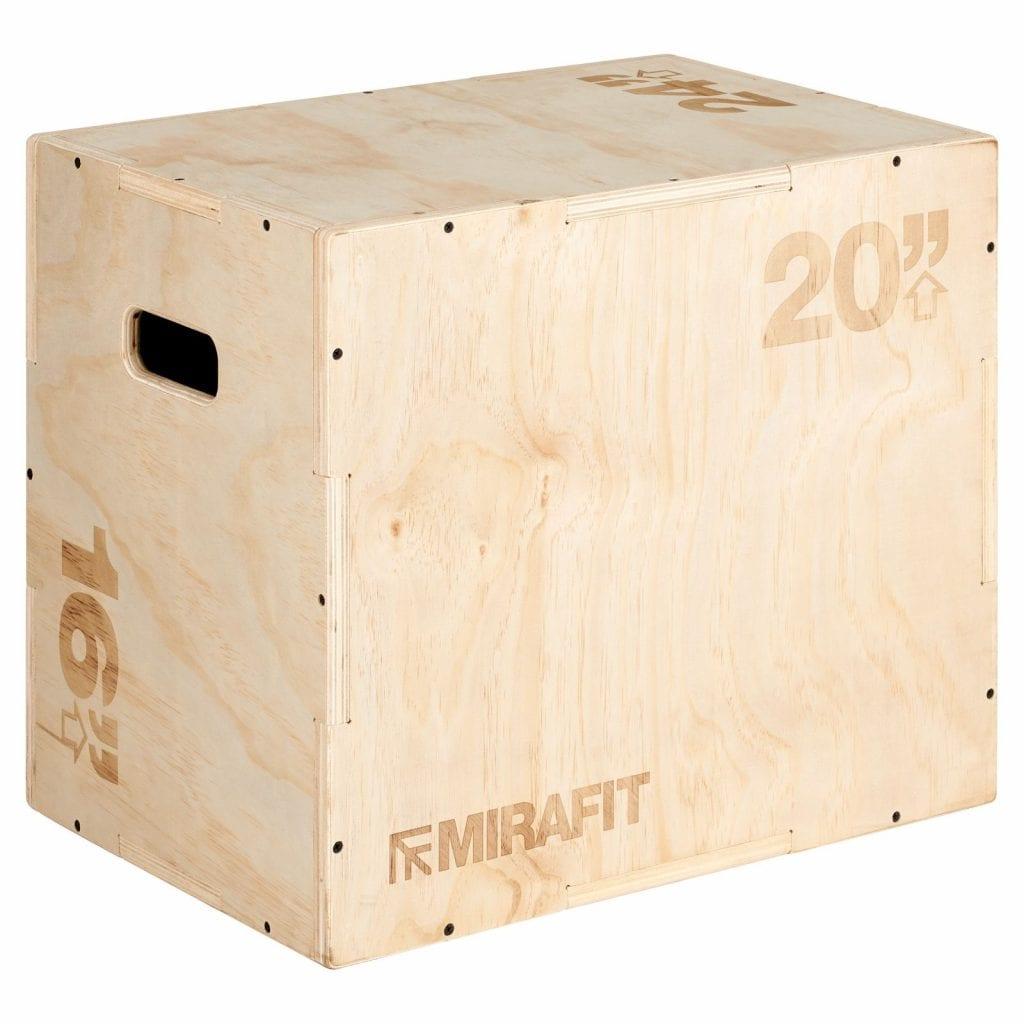 Mirafit plyo jump box
