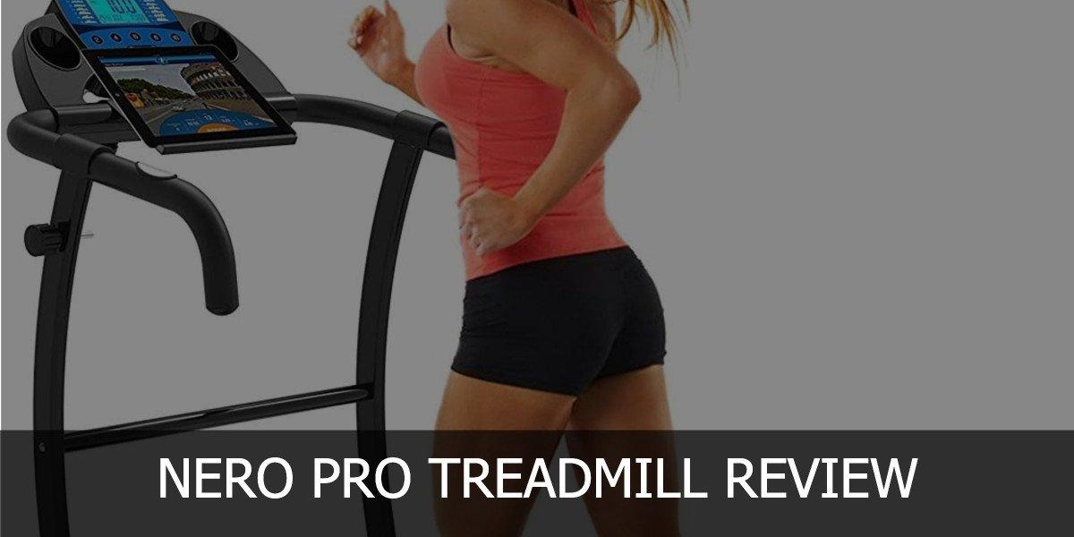 nero pro treadmill header