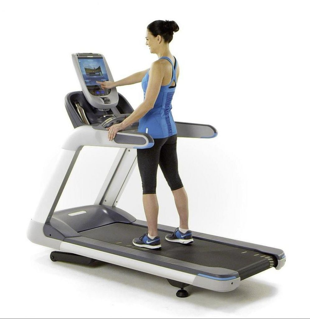 trm 885 treadmill being used